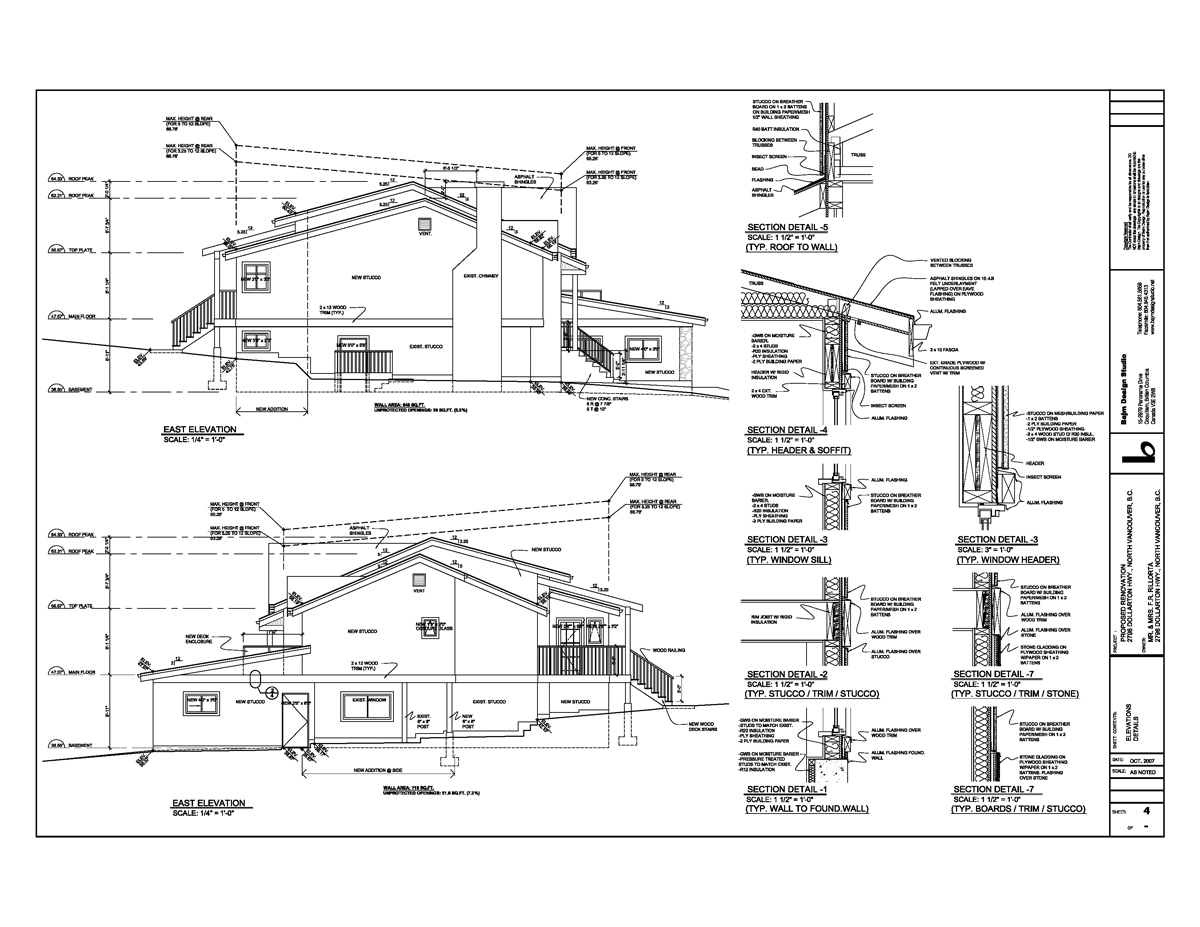 Building Construction Drawing
