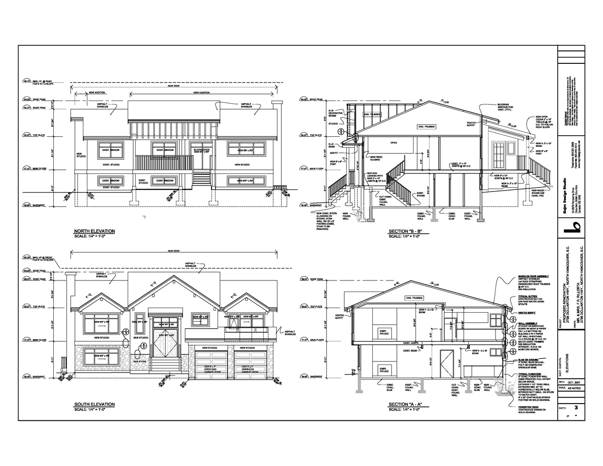 Index for Residential building drawings download